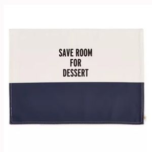 NWT Kate spade save room for dessert placemat (1)